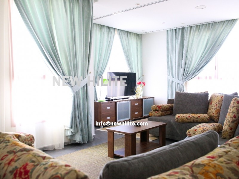 Furnished 3 bedroom apartment for rent in Salmiya