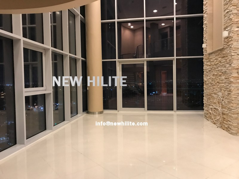 Luxury three bedroom penthouse for rent in Salmiya