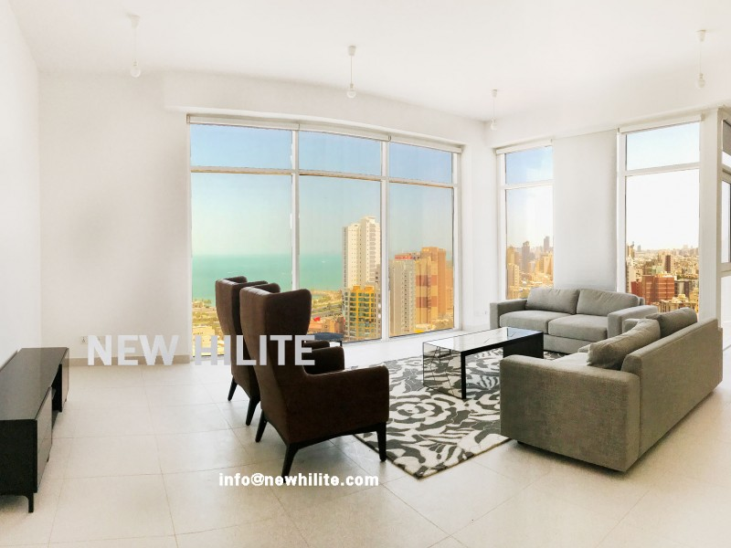 Furnished Three Bedroom Apartment for Rent in Bneid Al Qar