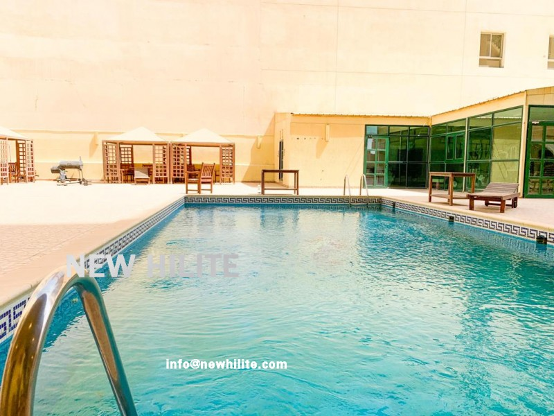 Three bedroom spacious apartment for rent in Salmiya