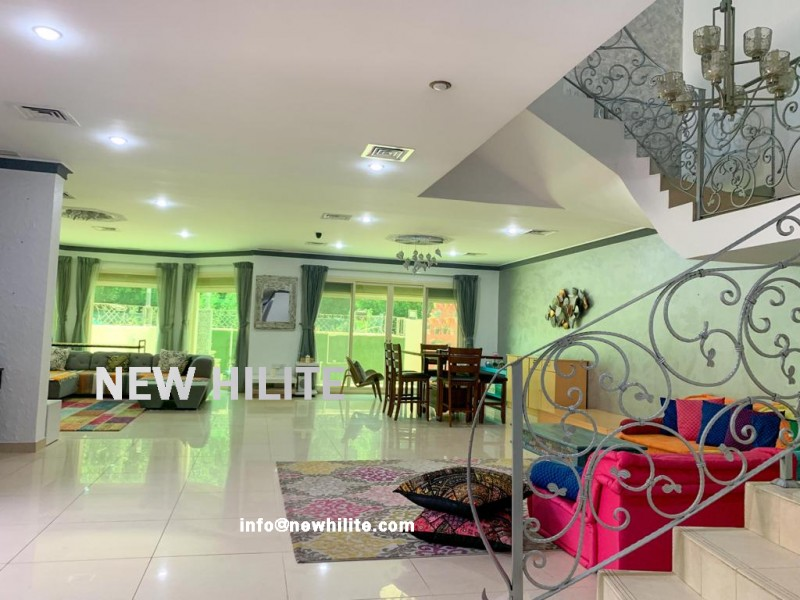 Spacious Eight Bedroom Villa for Rent in Abu Al Hassaniya