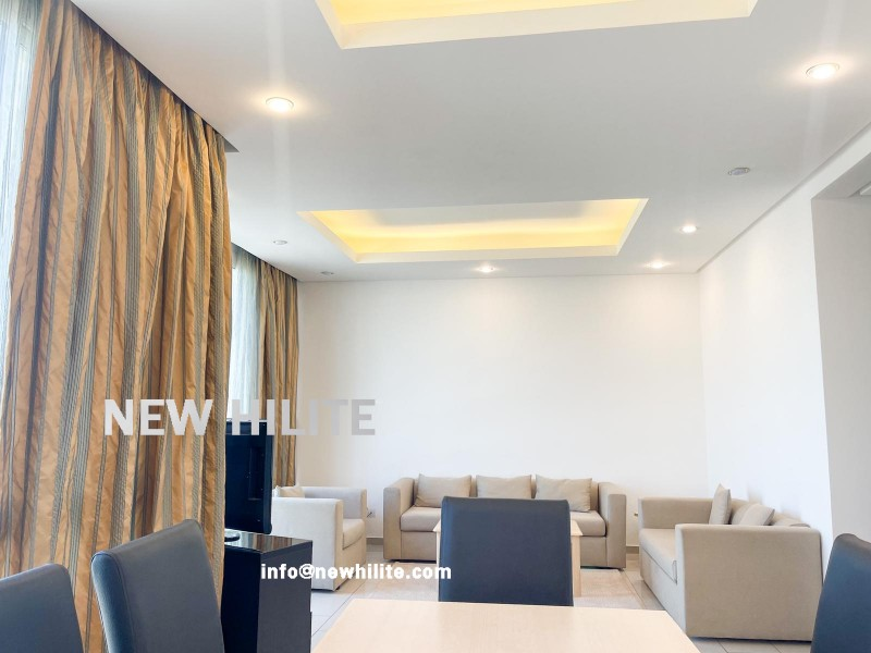 Furnished three bedroom apartment for rent in Salmiya