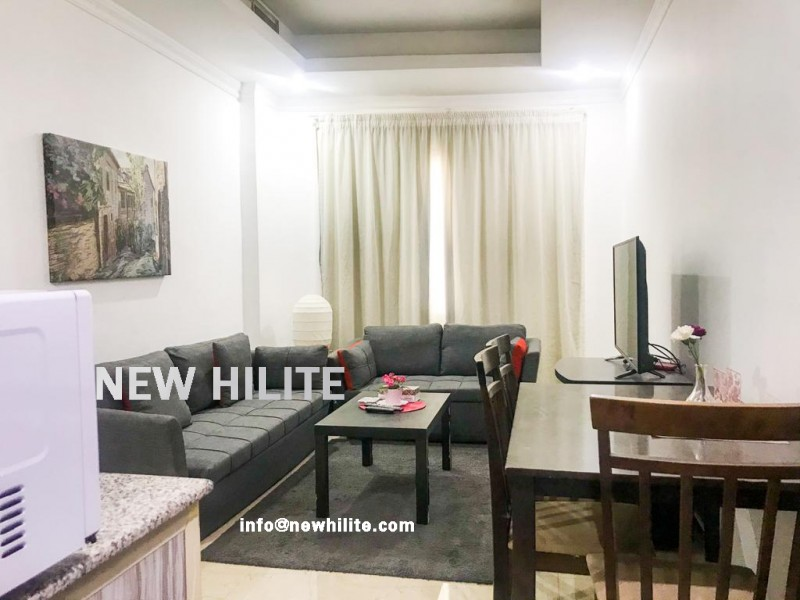 One bedroom furnished apartment for rent in Salmiya