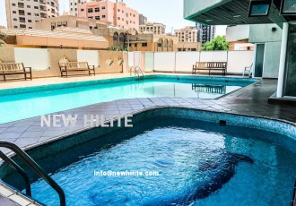 Sea view Three Bedroom Duplex Apartment for Rent in Salmiya