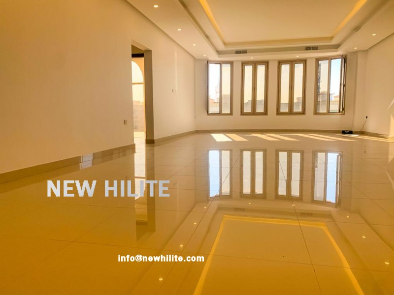 Brand new five bedroom villa floor in Egaila