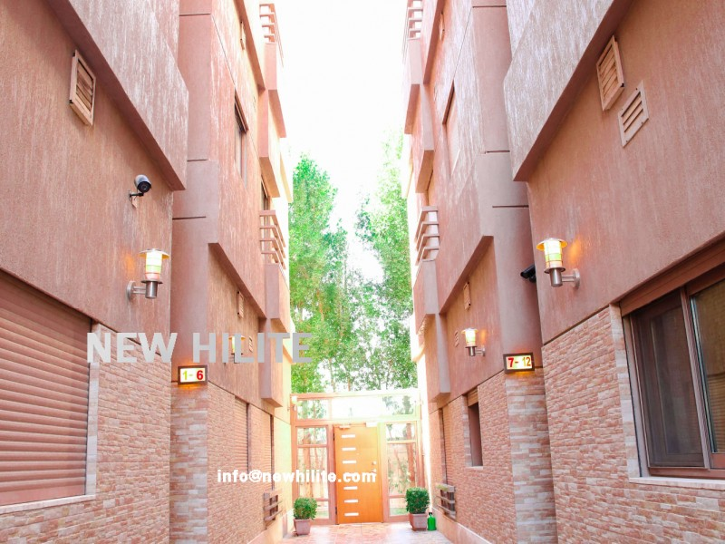 Three Bedroom Fully Furnished Villa Floor for Rent in Bayan