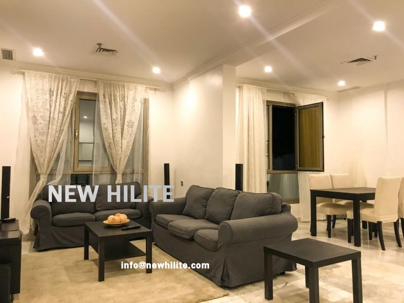Sea view One Bedroom Furnished Apartment in Salmiya