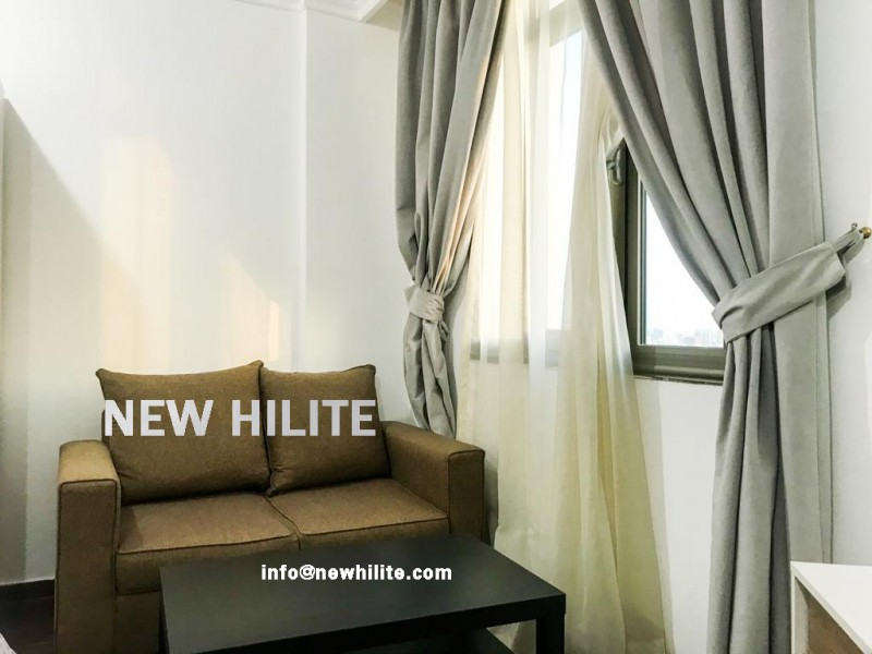 Furnished Studio apartment for rent in Salmiya ,close to marina beach