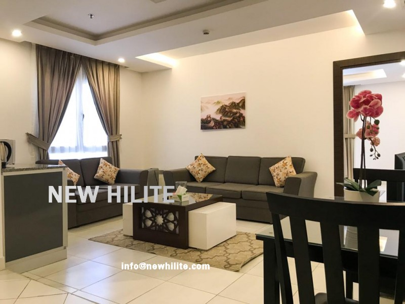 Furnished Studio & One bedroom with sea view in Salmiya