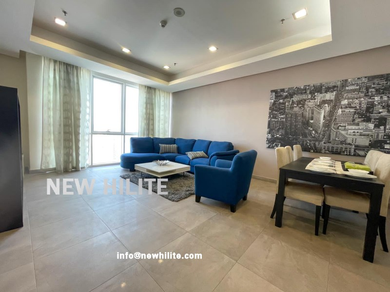 Fully Furnished Three Bedroom Apartment for rent in Salmiya